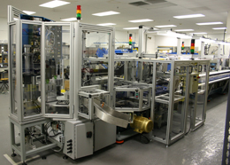 Automated packaging line